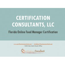 Food Manager Online Course